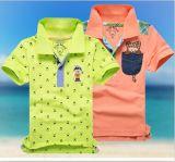 Haut de la marque de façon occasionnelle d'enfants T-shirts polo
