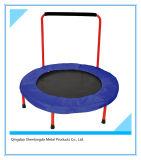 Mini-trampoline intérieure avec main courante les appareils de sport