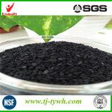 Серебристый пропитанные активированный уголь