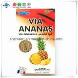 Ananas 100%の製品を細くする草のエキスの減量のカプセルによる高品質の熱い販売