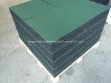 telhas ao ar livre Wearng-Resistentes da borracha do campo de jogos de 500*500mm