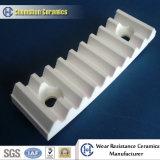 Resistenza alla fodera di ceramica su ordinazione dell'ossido di alluminio dell'abrasione con resistenza di abrasione