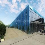 Edificio de acero prefabricado del almacén de la estructura de acero con la mejor resistencia a la corrosión