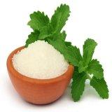 설탕 자유로운 자연적인 감미료 공유지 스테비아