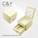 Оптовые изготовленный на заказ ювелирные изделия упаковывая коробку ювелирных изделий PU кожаный