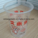 عالة علامة تجاريّة يطبع مستهلكة بلاستيكيّة الفشار فنجان