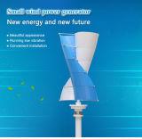 Pequeña turbina de viento vertical portable del eje de Vawt