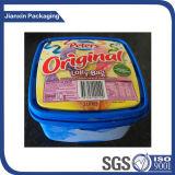 Coperchio di plastica personalizzato di marchio per il coperchio del contenitore di gelato