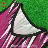 Ternos de Netball de Bodysuit para Sexo Feminino Barato