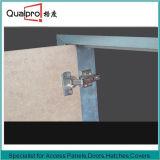 Painel de acesso do teto e da parede e porta de acesso com placa AP7510 do MDF
