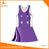 Платье Netball сублимации износа спорта одевает Джерси
