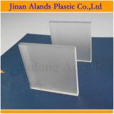 Strato acrilico del plexiglass glassato taglio di Lasering entrambi i lati 4 ' *8'