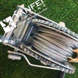 800kgs Treuil à la main avec corde à fil d'acier