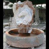 Fontaine en pierre de pierre naturelle pour meubles de jardin Mf-1026