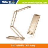 Lâmpada de leitura moderna de mesa de LED moderna