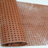 Coil Hollow Anti Slip Drainage Rubber Mat / Anti Fatigue Rubber Mat