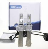 bulbos do farol do carro do diodo emissor de luz 5s de 25W 4000lm 9006 legais para o auto farol