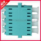 adaptador ótico do quadrilátero do Aqua de 10G OM3 LC