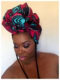 Elegante Turbante Ancara Imprimir Headwrap africana