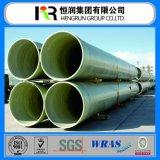 Tubo ligero de GRP/FRP para la irrigación de la industria/el abastecimiento de agua del ambiente