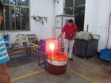Sucata de aço resistente forno de indução de fundição na China