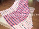 100% органический хлопок одеяло из жаккардовой ткани с дизайном (NMQ-CBB-003)