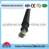 Double câble solaire isolé de XLPE, TUV