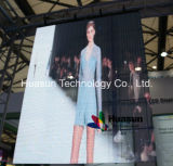 Étalage transparent de guichet en verre de P6mm pour le magasin au détail