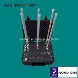 300W 이동 전화 신호 방해기 폭탄 방해기 (GW-VIP JAM6)