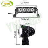 9inch 40W 크리 사람 Offroad 일 램프 LED는 줄에게 표시등 막대를 노래한다