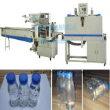 PLC Control Full Automatic Small Bottles Group Shrink Wrapping Machine
