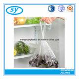 Saco plástico material desobstruído do alimento do LDPE
