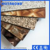 Konkurrenzfähiges Preis-Marmor-(Stein) zusammengesetztes Aluminiumpanel (ACP)