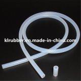 Médico de extrusão Grau Alimentício do tubo de borracha de silicone flexível