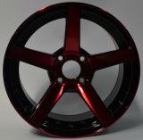 Borde de aluminio de la rueda de la aleación de Vossen de 15 pulgadas para los vehículos de pasajeros de Nissan Toyota KIA Hyundai