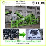 pour la grande capacité de vente pour 8 tonnes de puce en caoutchouc par heure réutilisant la machine