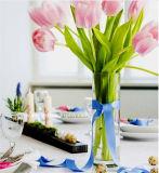 Vasi alti poco costosi liberi all'ingrosso del cilindro di Arylic per le cerimonie nuziali