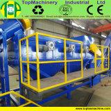 ABS del PC del PVC di plastica residuo dell'animale domestico del PE che schiaccia riciclando la riga di lavaggio delle bottiglie dei pp