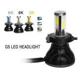 G5 luminosità eccellente 8000lm 80W 9-36V H4 H7 H11 9005 9006 un faro dei 9007 motocicli