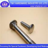 Нержавеющая сталь 304 /316 с короткой шейкой и квадратным подголовком DIN603 болт с квадратным подголовком