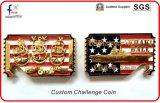 Tieclip keychain Mappen-Öffner-Münzen mit kundenspezifischem Firmenzeichen