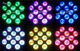12*10W Rgaw 4 in 1 mini indicatore luminoso di PARITÀ del LED