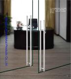 Het Handvat van de Deur van het Glas van het Roestvrij staal van het Type van Dimon H met Slot DM-DHL 034