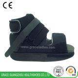 黒の開いたつま先の医学のポスト操作の靴の歩きやすい治療の靴
