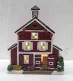 Luxe Hand Geschilderd Porselein Aangestoken Huis
