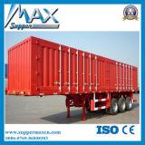 Remolque de la caja de la carga de la aleación de aluminio del furgón seco para la venta caliente