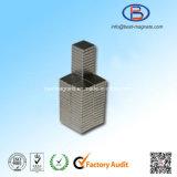 Neodymium-ijzer-borium de Magneet van het Blok met Gouden Deklaag