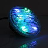 54W LEIDENE van PAR56 Zwemmende Lamp met het Enige Licht van de Kleur van China