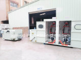 Máquina de cabos de máquina de torção com cabo duplo traseiro vertical