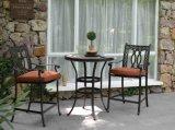 Tabella esterna e Barstool della barra del ristorante del metallo del ferro della mobilia del giardino di nuovo stile americano tradizionale
